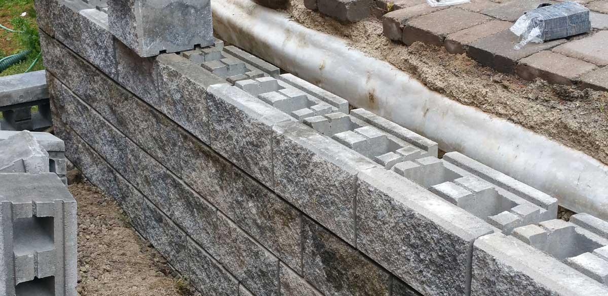 Precast Block Retaining Walls